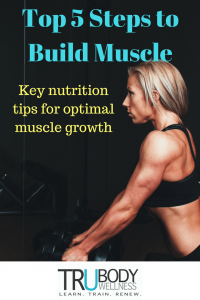 Top 5 Steps to Muscle Building