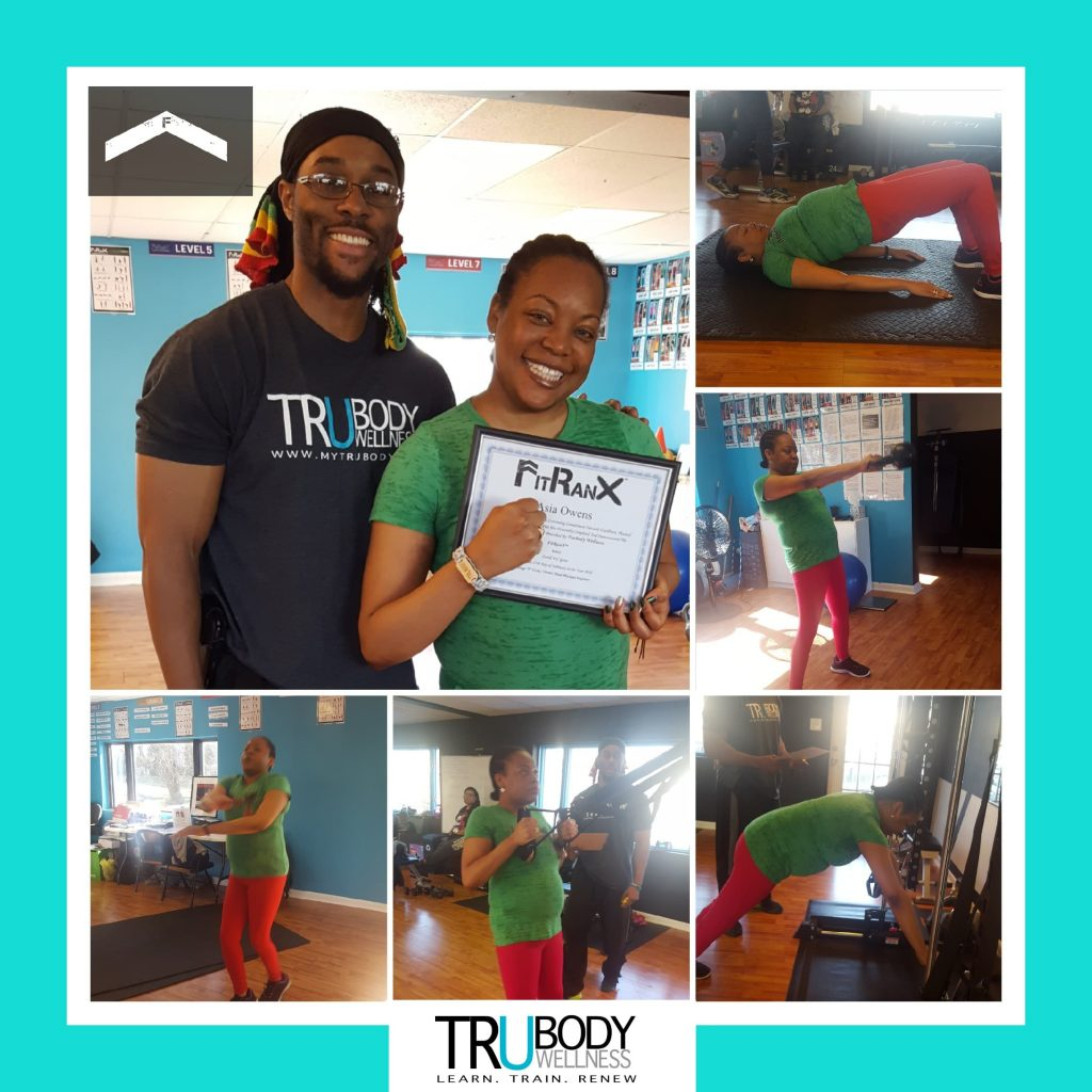 Asia takes the FitRanX Level 1 Test and levels up at TruBody Wellness